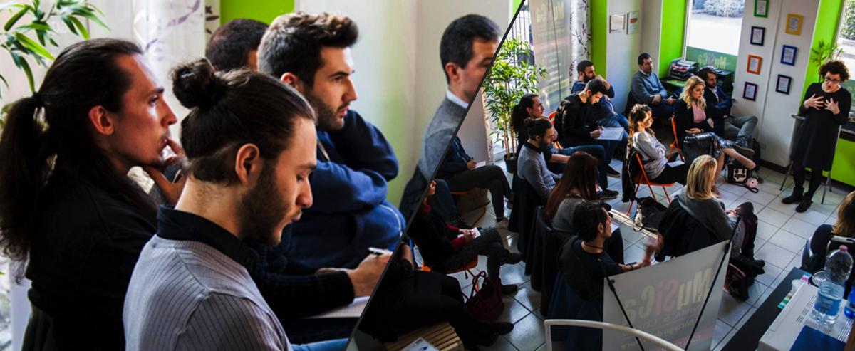 Foto di Mattia Saglietti - Seminario i social per la musica Musica Anima e Corpo