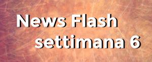 news flash settimana n6
