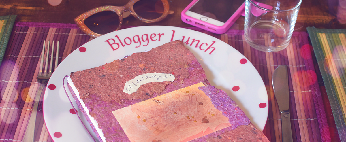 Blogger lunch