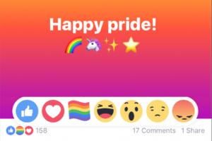 reaction di facebook