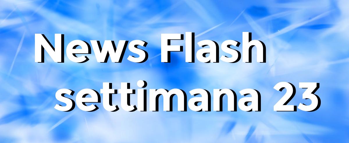 news flash settimana n23