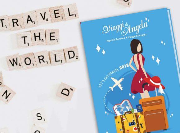 grafica brochure agenzia viaggi