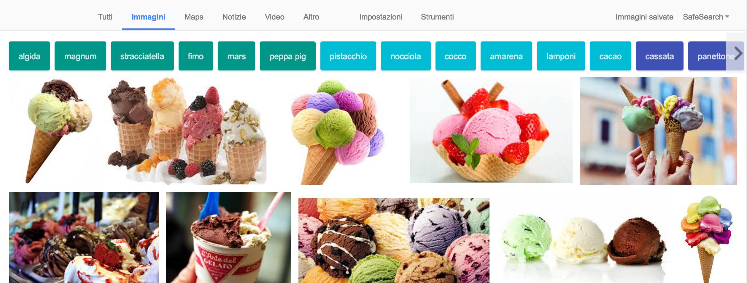 filtri ricerca google