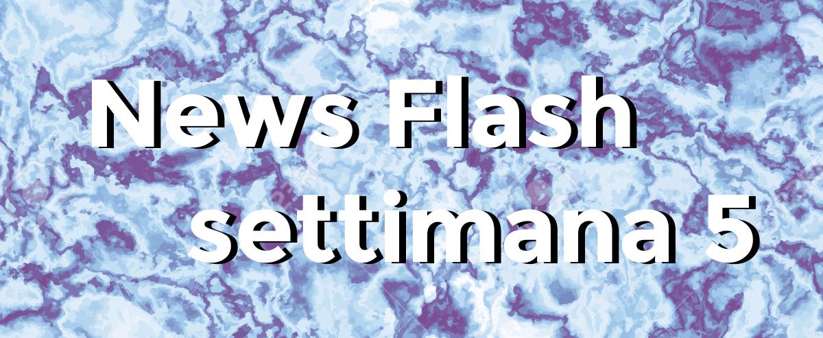 news flash settimana n5