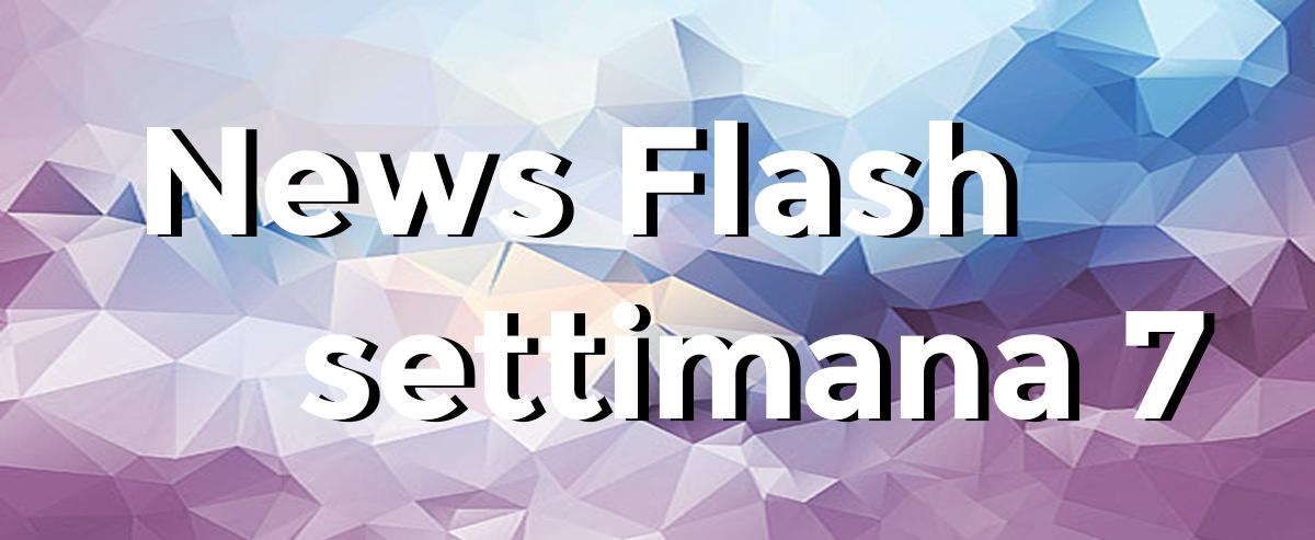 news flash settimana n7