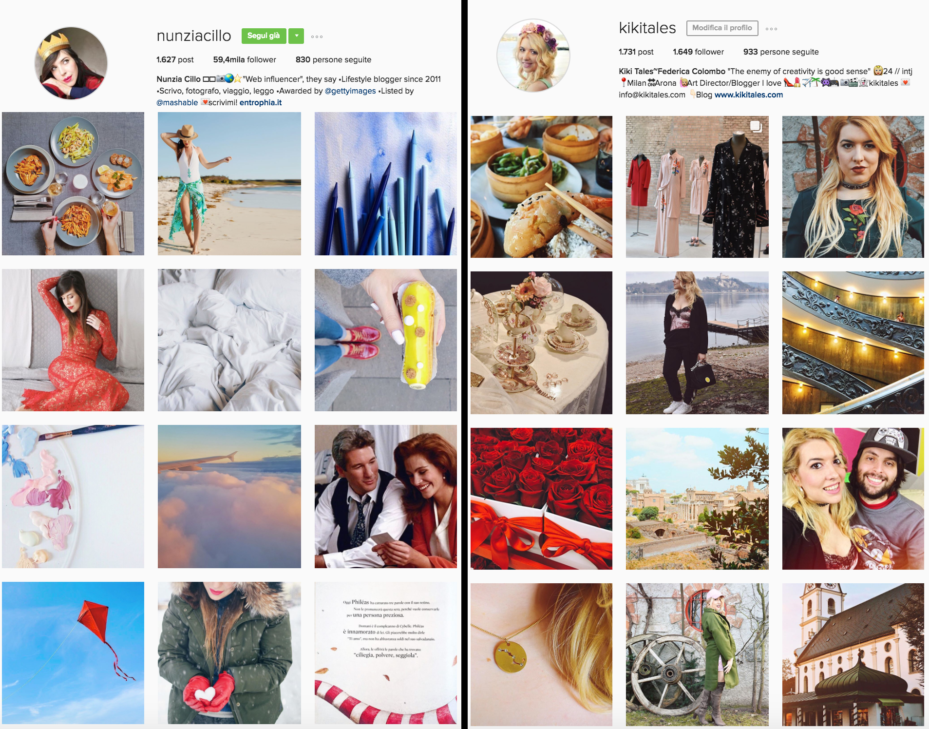 personal branding instagram
