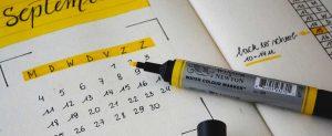 come funziona il calendario editoriale?